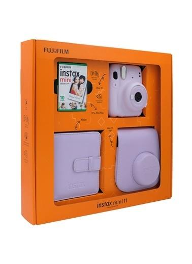 Instax Instax Lila Mini 11 Renkli Özel Kutulu Set Lila